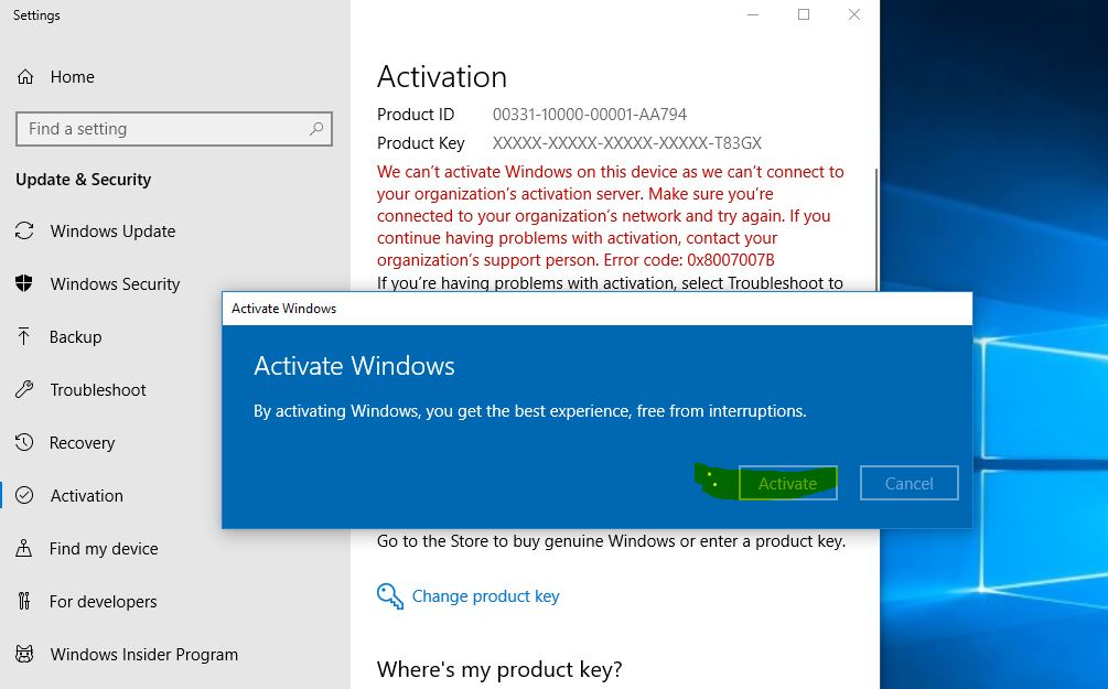 How to activate windows 10 pro 64 bit – JugadTech